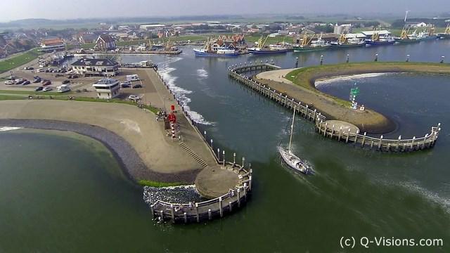 Texel Hafeneinfahrt